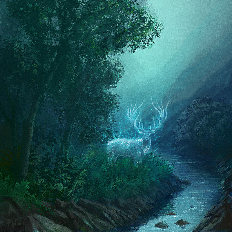 Astral Stag by Peach