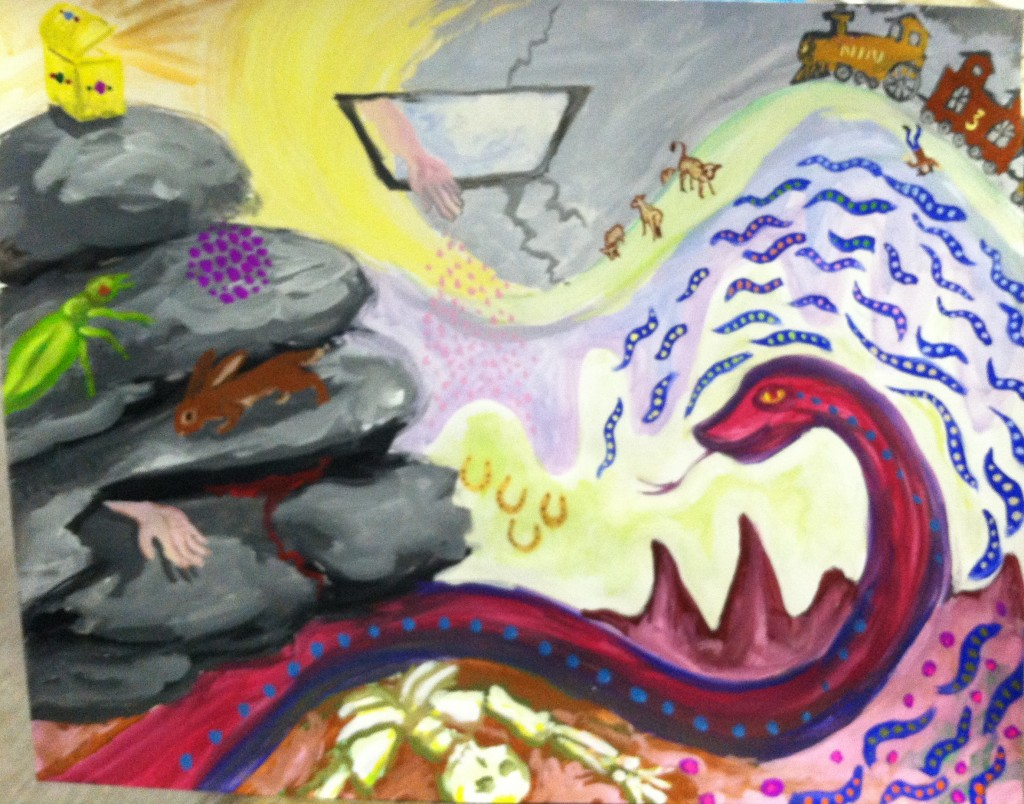 Mardi Storm Soul Painting