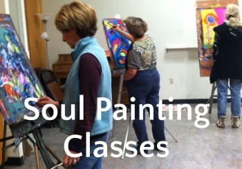 SoulCentric Painting Weekly Classes