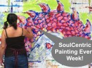 Every Tuesday SoulCentric Painting Classes